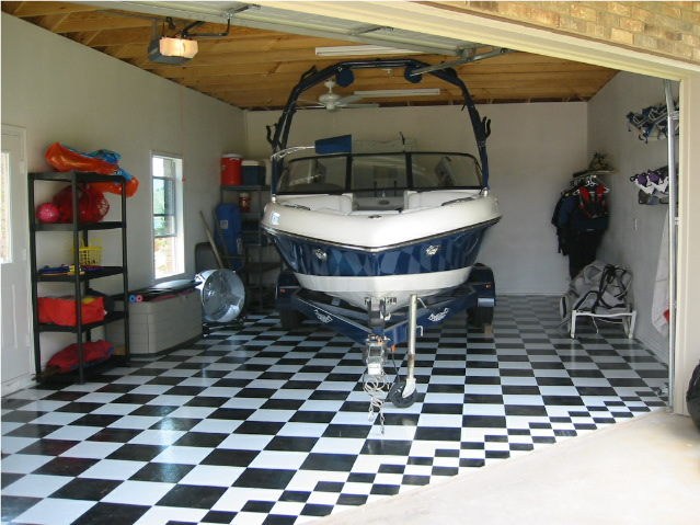 Wakeboarder Detached Garage Build For Boat With