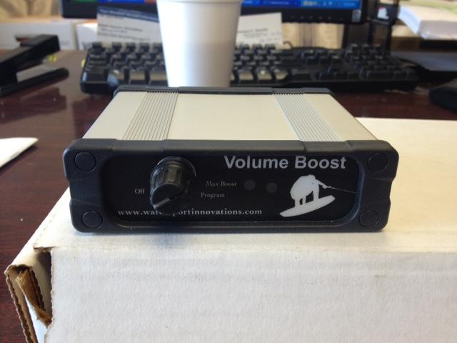 Wakeboarder :: Boost Box - Automatic Volume Control