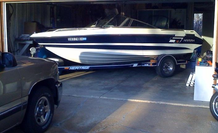 Boat In    Car Garage